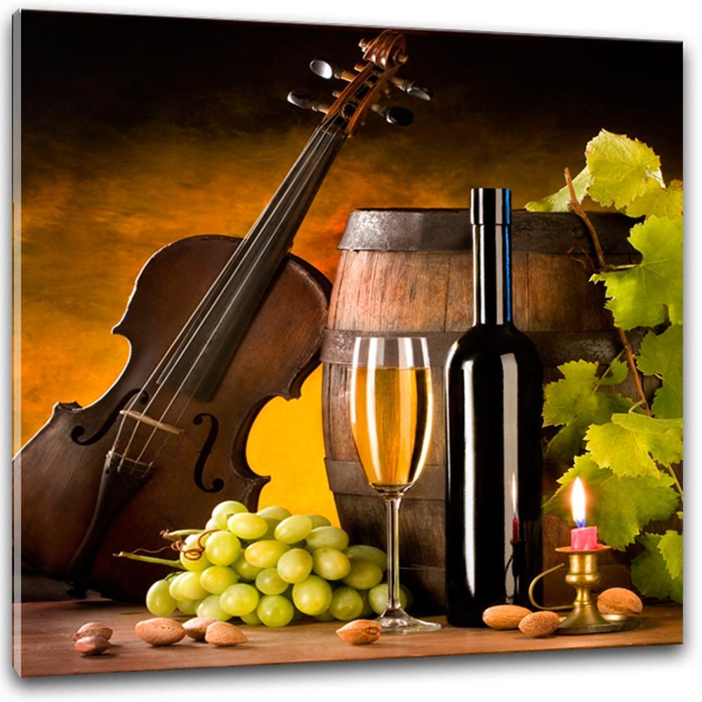 Obraz Styler Glasspik Wine III, 30×30 cm
