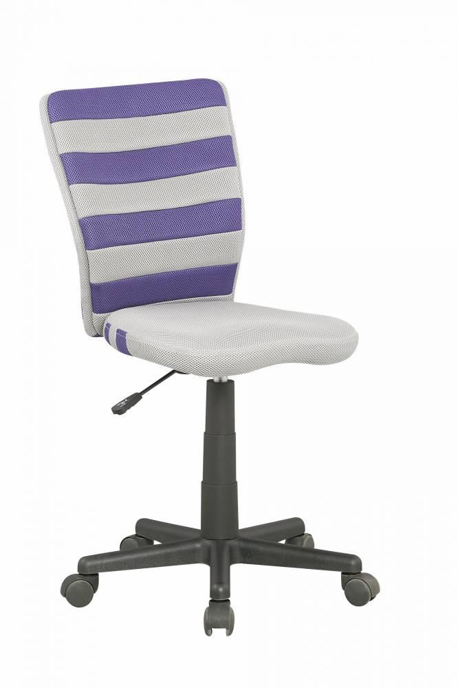 Detská stolička Fuego (sivá + fialová)