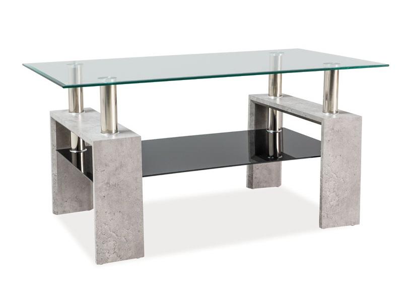 Konferenčný stolík Lisa II (sivá)