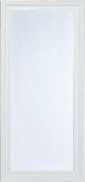 Nástenné zrkadlo WEXA - biela/strieborná