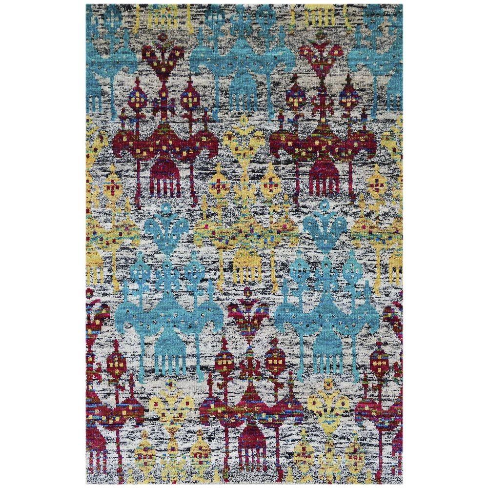 Ručne tkaný koberec Ikar Multi, 120x180cm