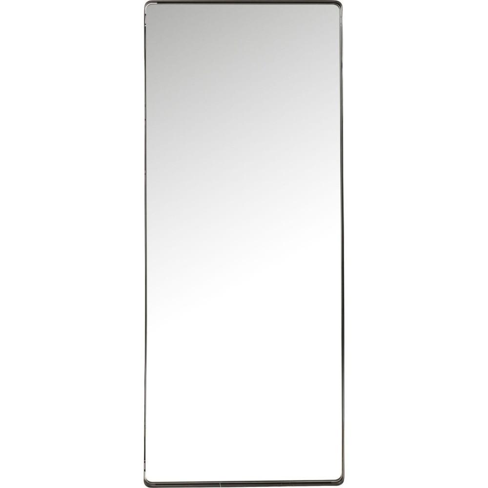 Zrkadlo s čiernym rámom Kare Design Shadow Soft, 200 x 80 cm