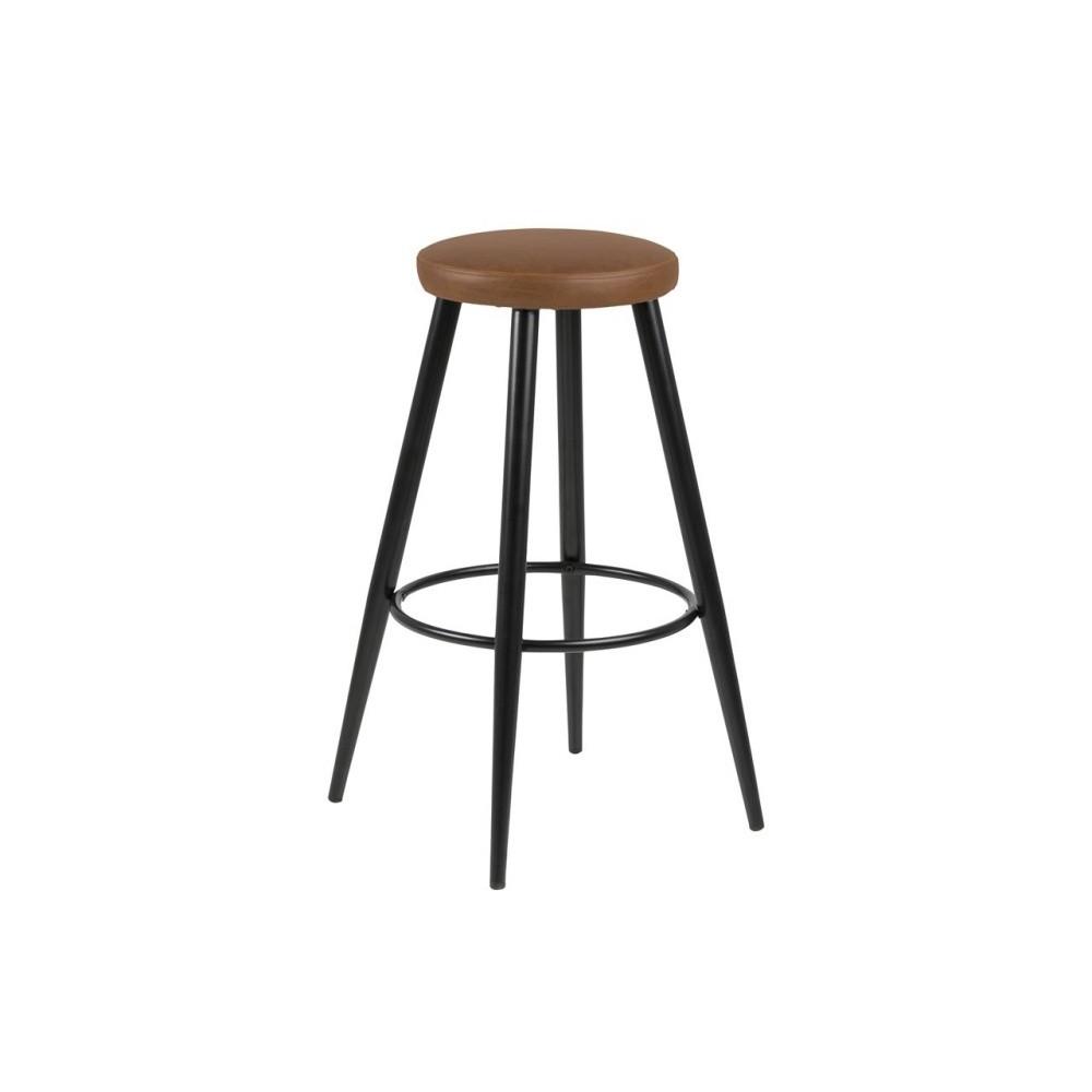 Sada 2 hnedých barových stoličiek Actona Hector