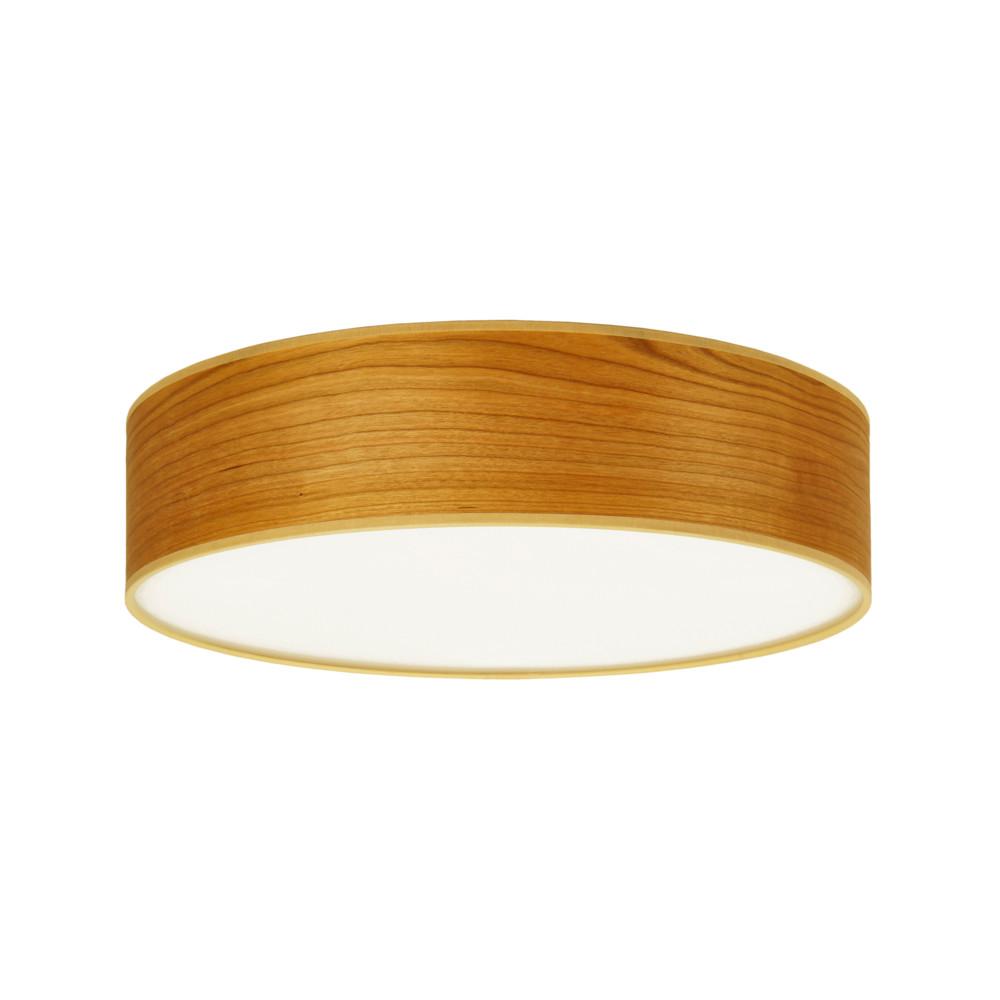 Stropné svietidlo vo farbe čerešňového dreva Sotto Luce Tsuru, Ø 40 cm