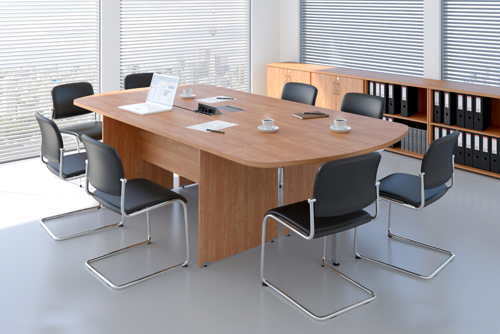 Rauman Zostava kancelárskeho nábytku Visio 8 javor R111008 12