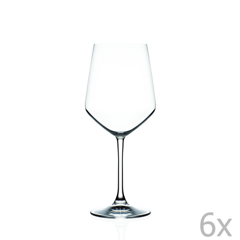 Sada 6 pohárov na víno RCR Cristalleria Italiana Annalisa