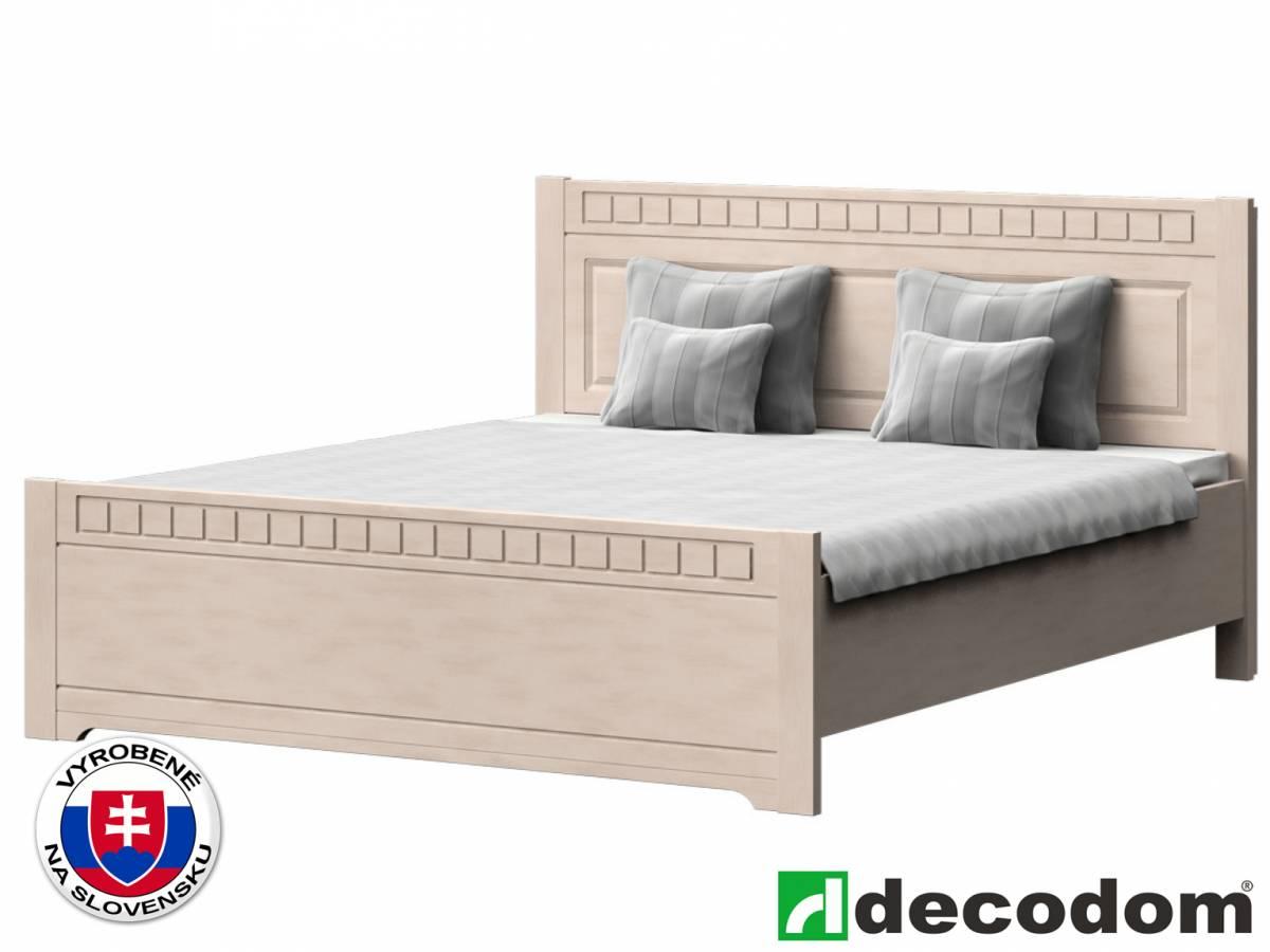 Manželská posteľ 180 cm Decodom Lirot Typ P-180 (vanilka patina)