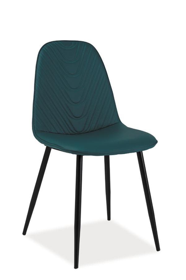 TEODOR A jedálenská stolička, morská zelená