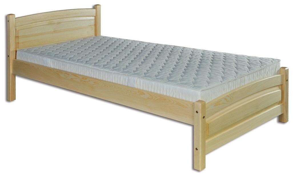Jednolôžková posteľ 100 cm LK 125 (masív)