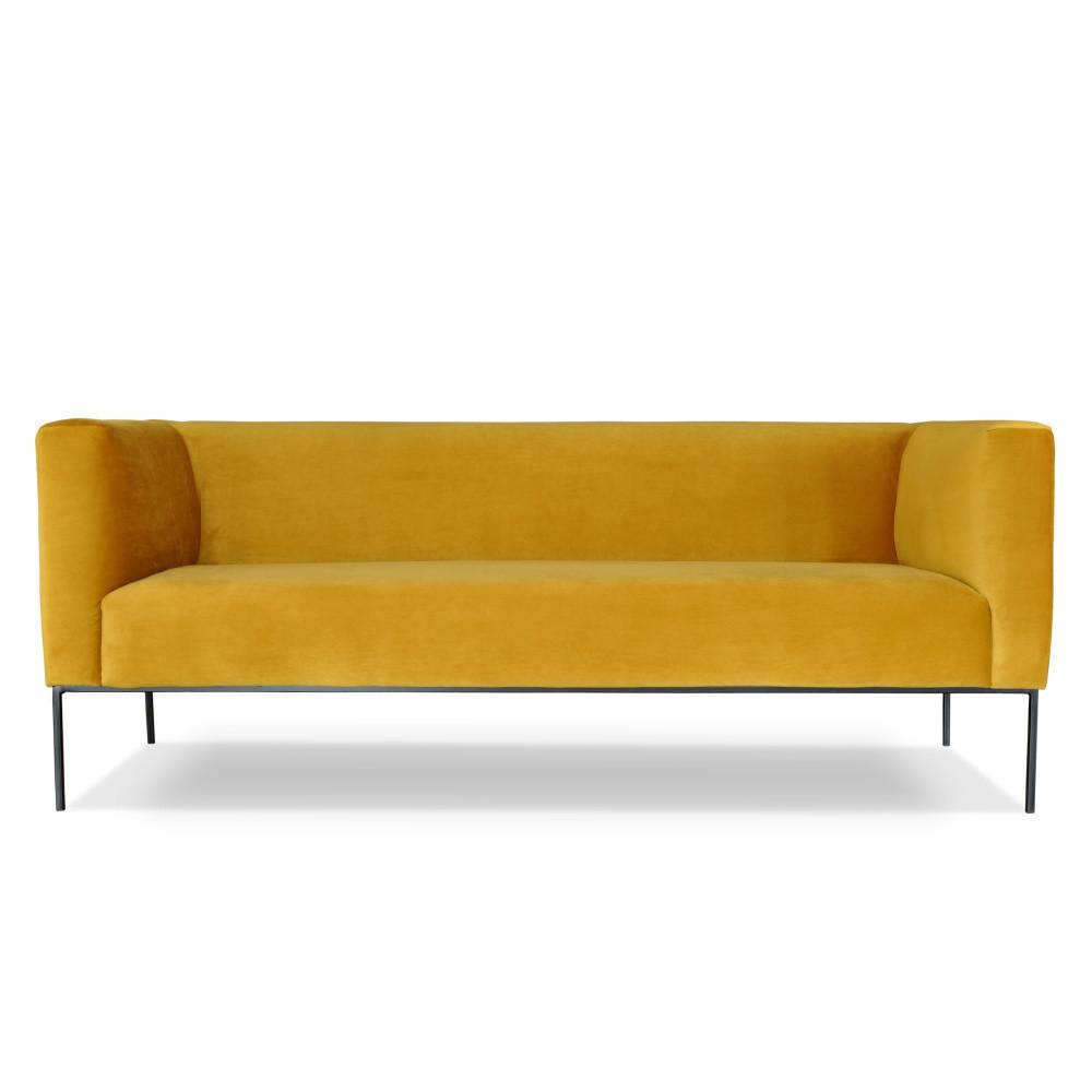 Žltá trojmiestna pohovka Windsor & Co. Sofas Neptune