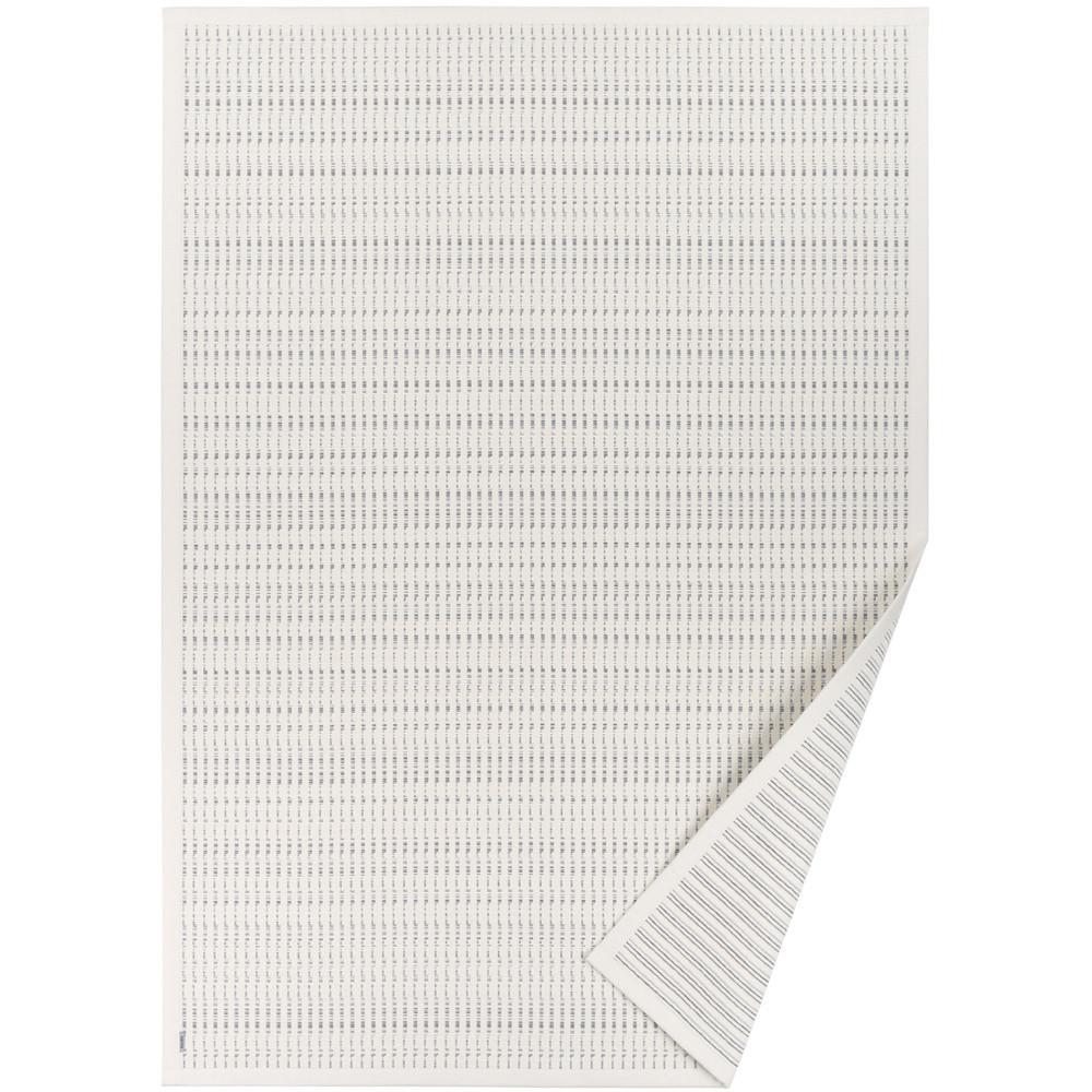 Biely vzorovaný obojstranný koberec Narma Esna, 70x140cm