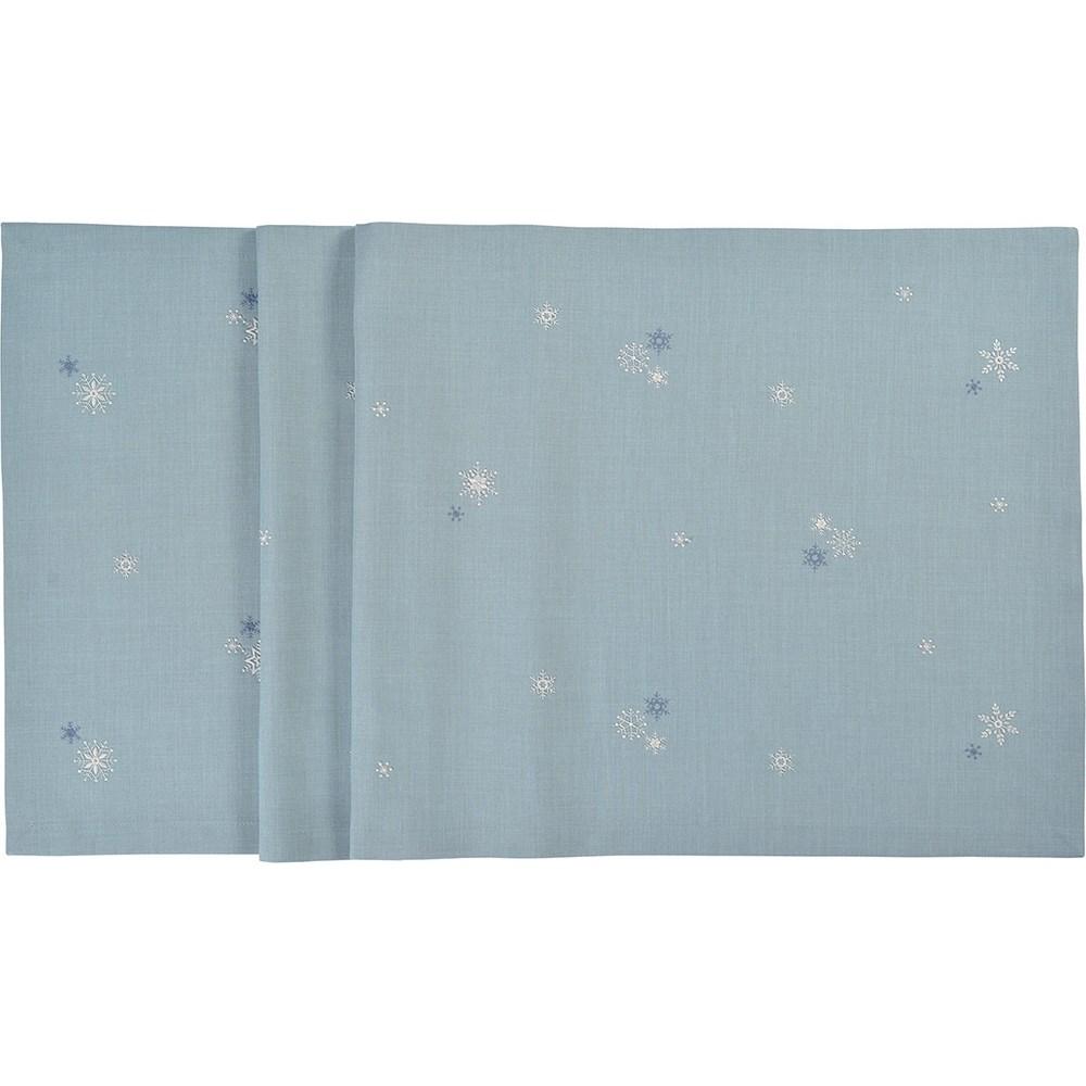Sander Obrus Crystalized modrá 50 x 150 cm