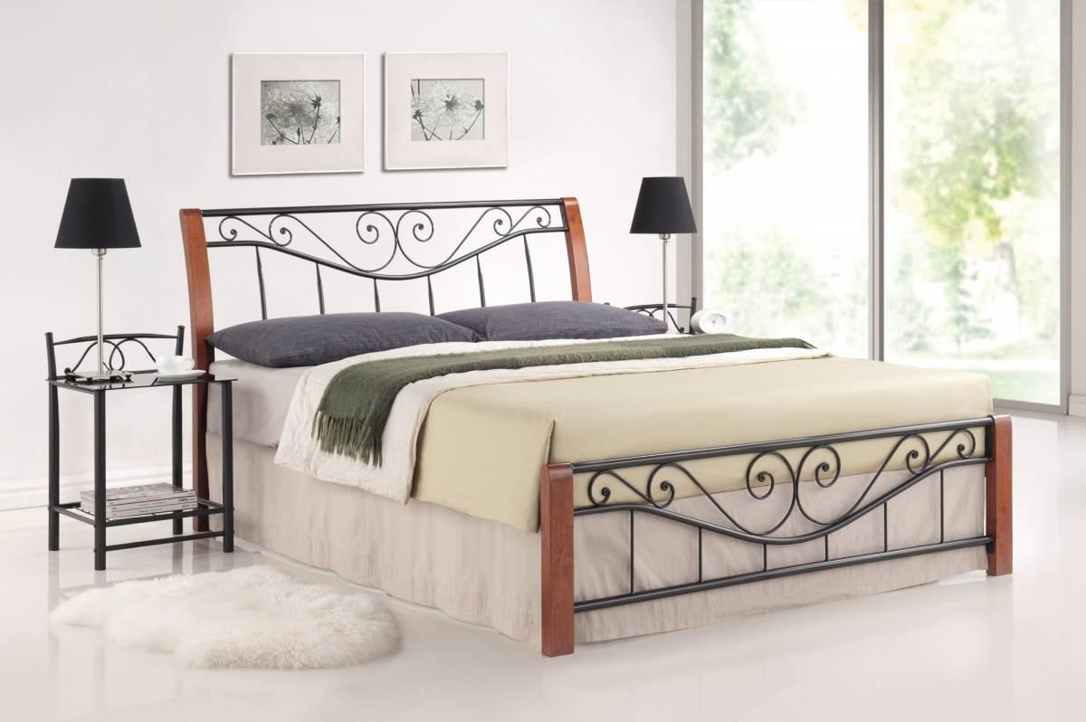 Manželská posteľ 140 cm Parma (s roštom)
