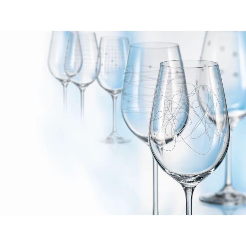 Maser 6-dielna Sada kalíškov na víno Elements