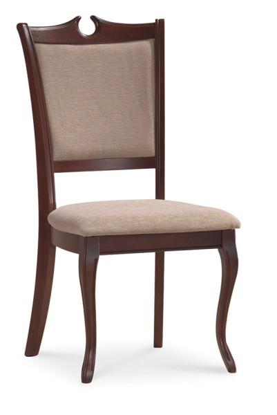 SC-RY čalúnená jedálenská stolička, orech tmavý