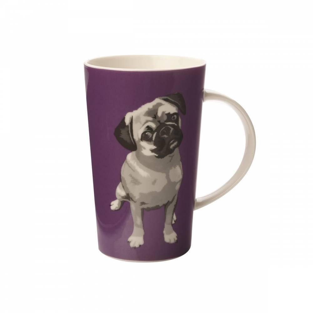 Maxwell& Williams Paws Conical Mug Hrnček, fialová,