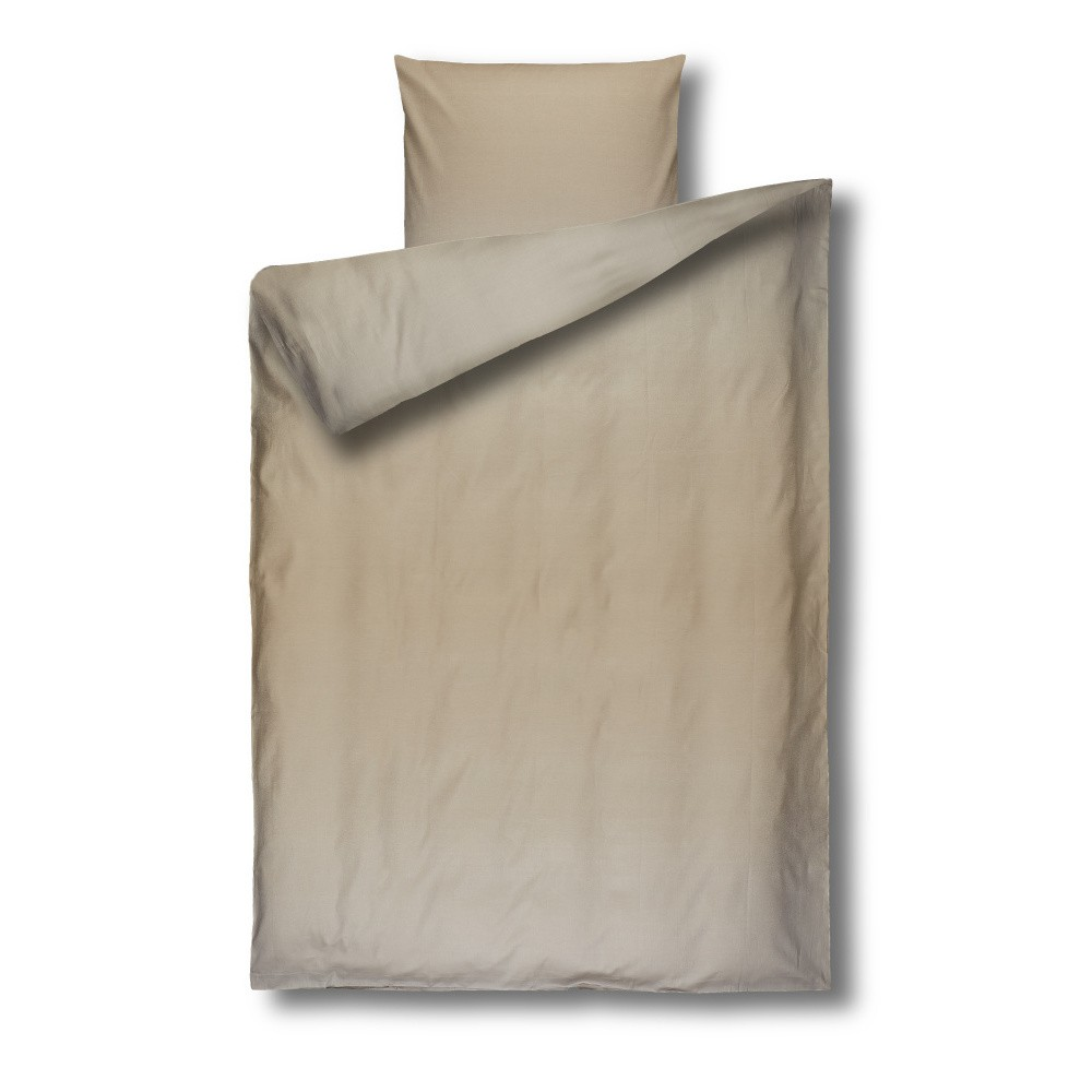 Béžové damaškové obliečky Casa Di Bassi Basic, 135×200 cm