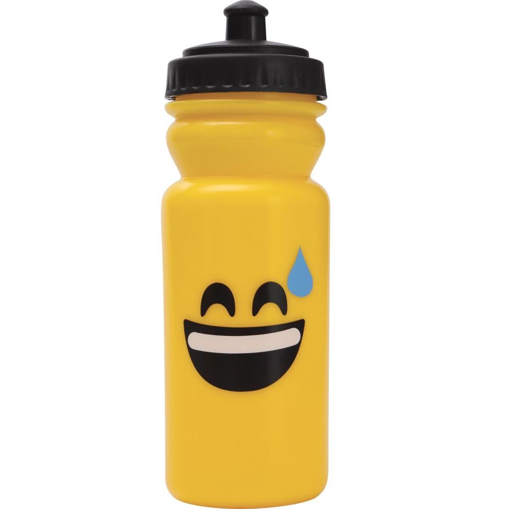 Športová fľaša na vodu Bergner Emoticon Sweat, 600ml