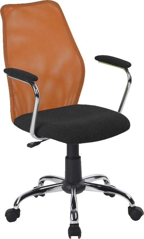 Kancelárska stolička BST 2003 oranžová