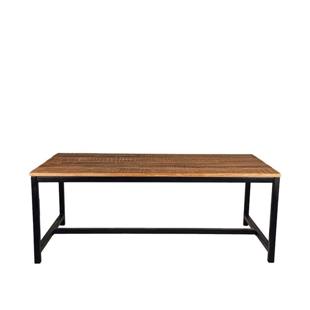 Jedálenská stôl s doskou z mangového dreva LABEL51 Brussel, 220 x 96 cm