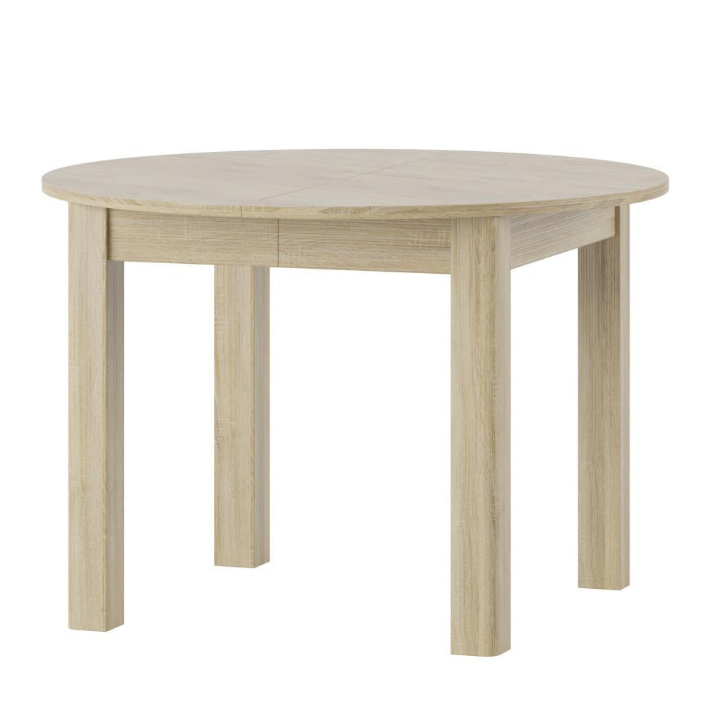Rozkladací jedálenský stôl vo svetlom drevenom dekore Szynaka Meble Uran