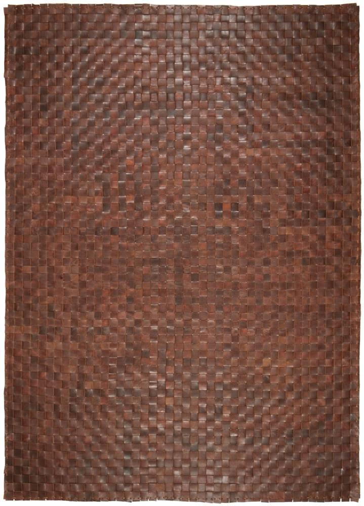 Papilio Koberec Witek kožený rock 1111 hnedý 160x230cm