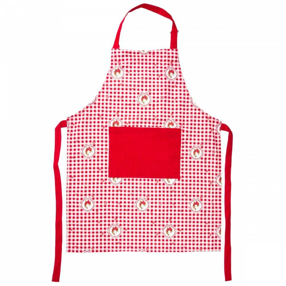 Trade Concept Zástera Elegant kocka červená
