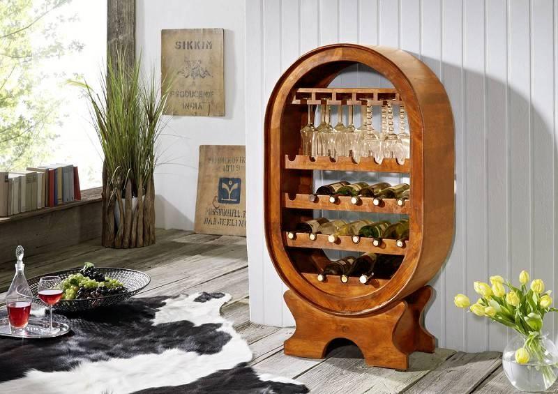 OXFORD HONIG vínny regál #0533 masívny agát
