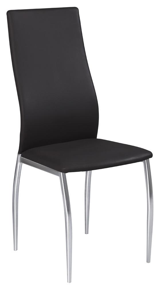 Jedálenská stolička H-801 čierna