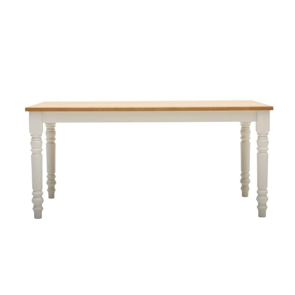 Drevený jedálenský stôl Artemob Cristina, dĺžka160 cm