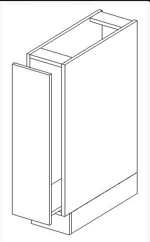 FRED dolná skrinka D15-CARGO