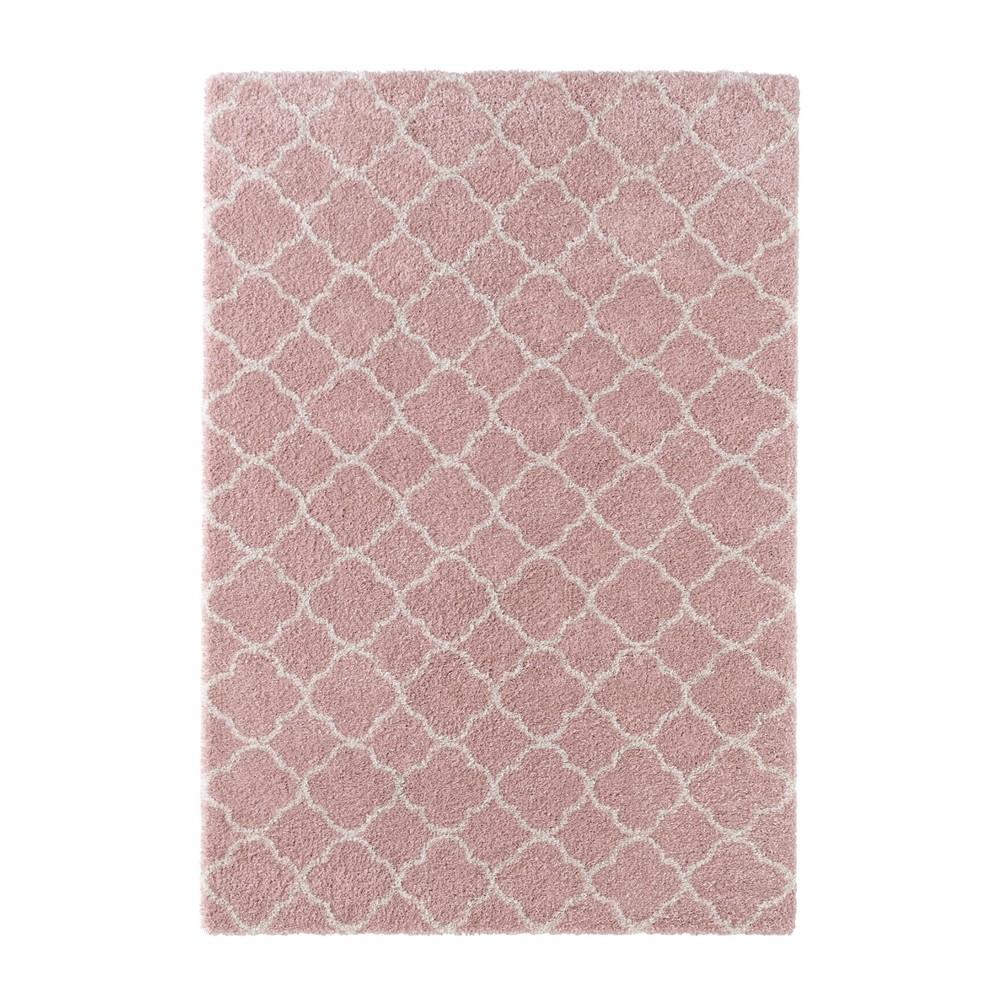 Ružový koberec Mint Rugs Grace, 80x150cm