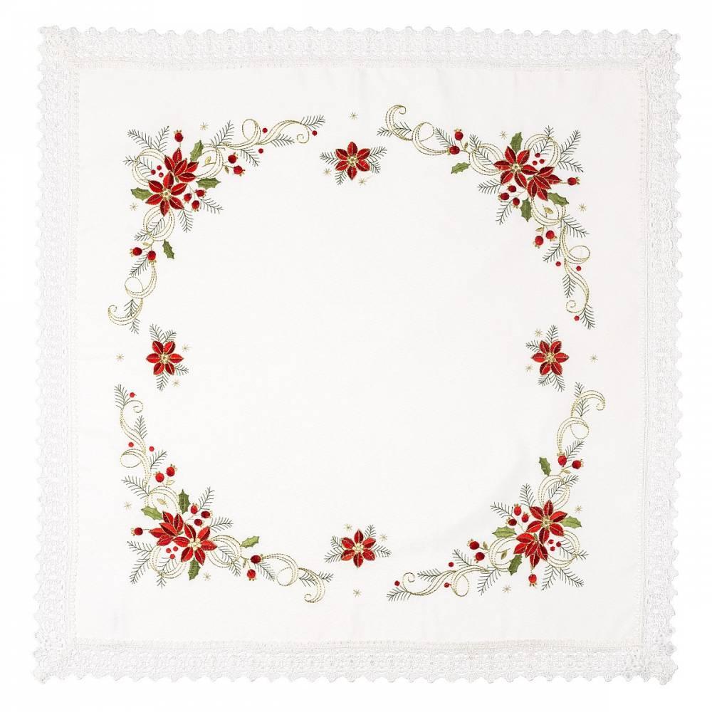Forbyt Vianočný obrus Felix, 85 x 85 cm