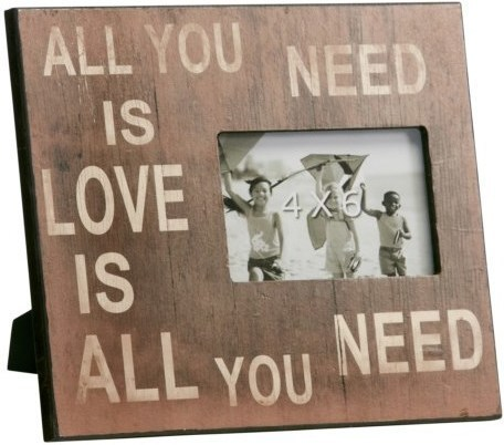 Fotorámik ALL YOU NEED IS LOVE ...