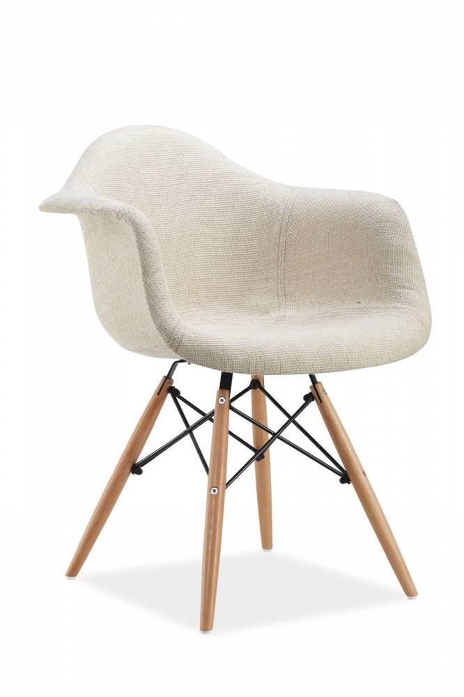 Jedálenská stolička Bono (krémová)