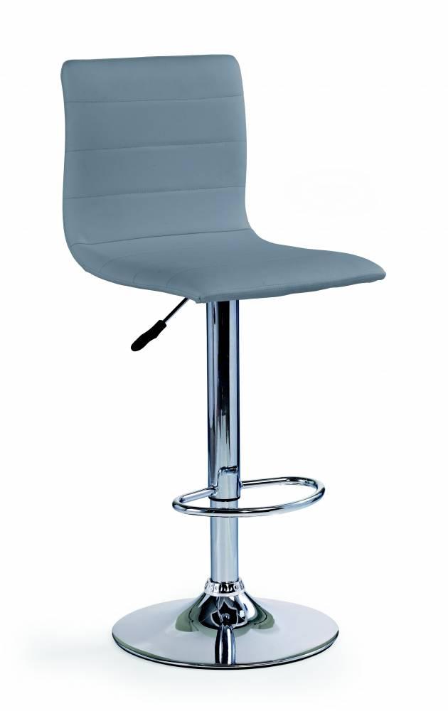 Barová stolička H-21 (sivá)