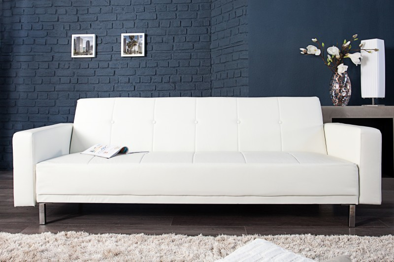 Sedačka MANHATAN 215 cm - biela