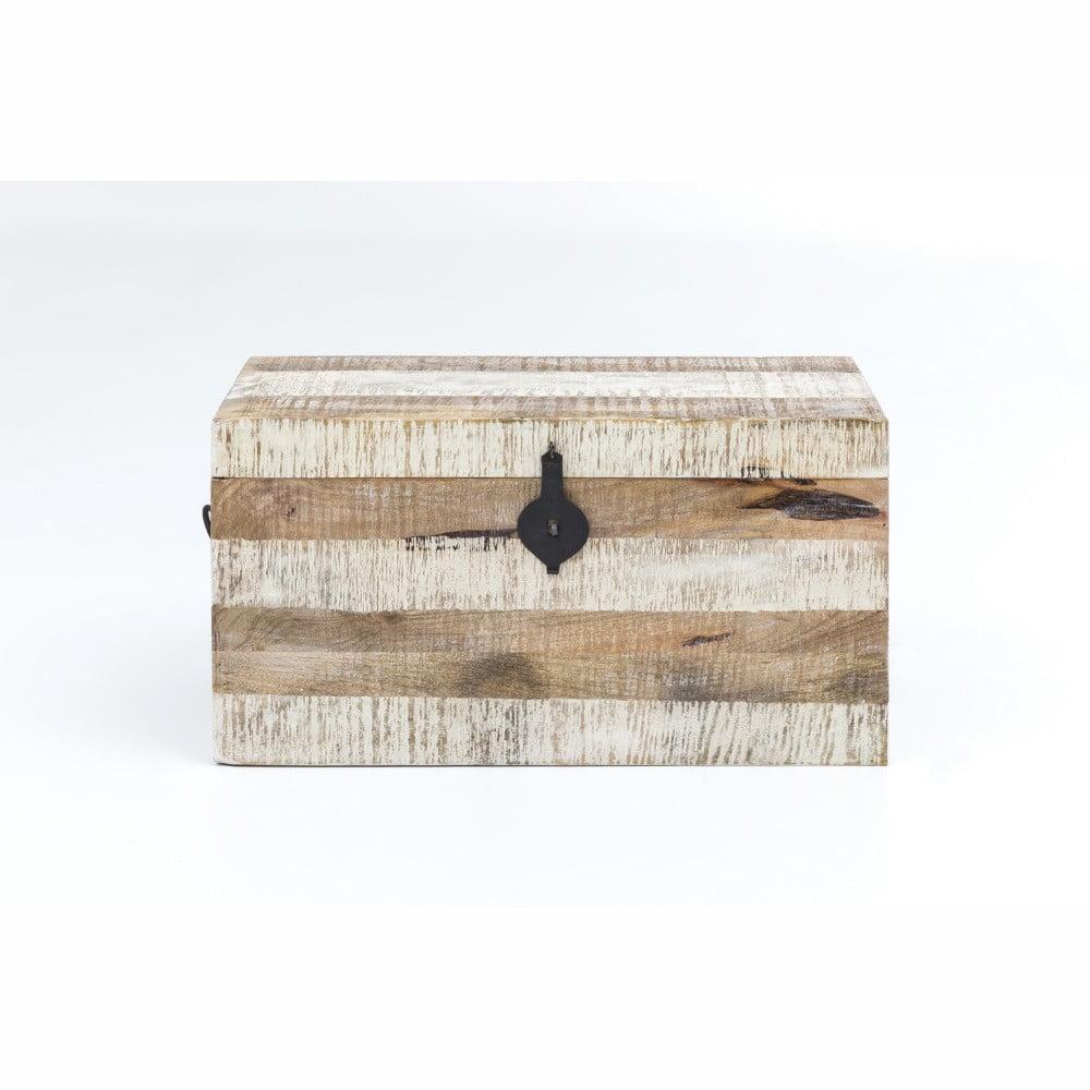 Úložný box z mangového dreva WOOX LIVING India Traditional