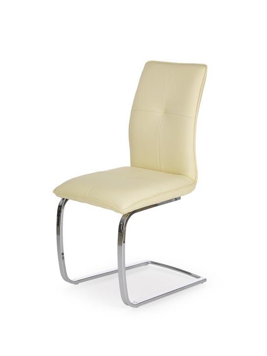 Jedálenská stolička K252 (vanilka)