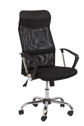 Kancelárska stolička Q-025 čierná