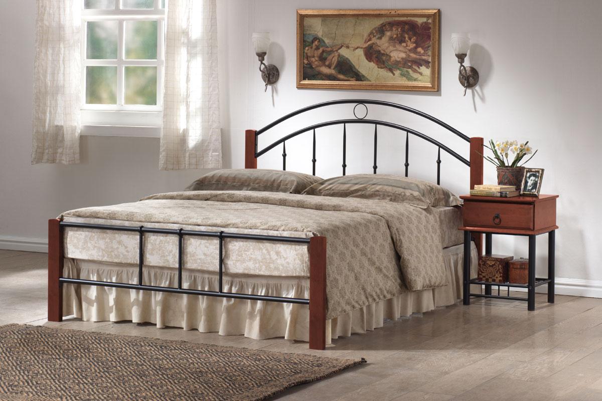 Kovová posteľ PORTAL 160x200 cm