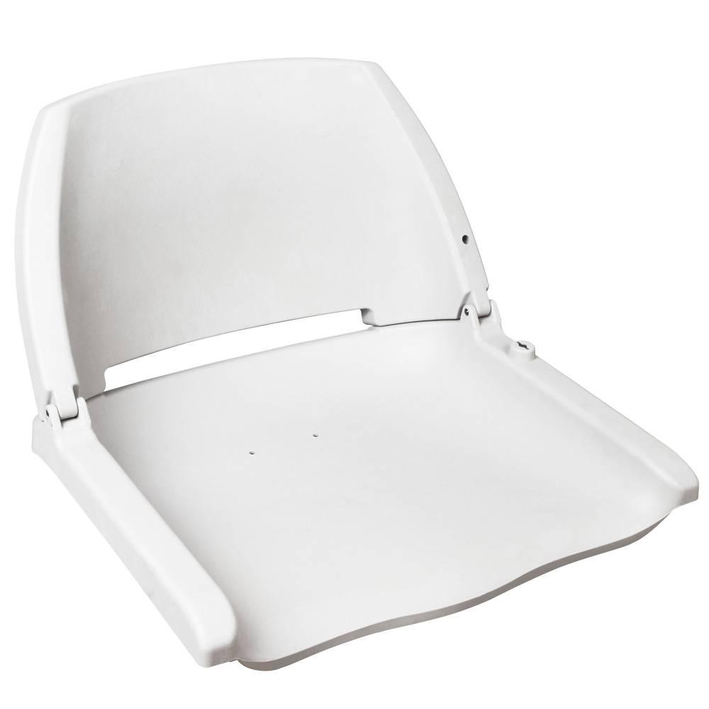 [pro.tec]® Kapitánske sedadlo - pre lode / člny / jachty, 521 x 457 x 408 mm, biele