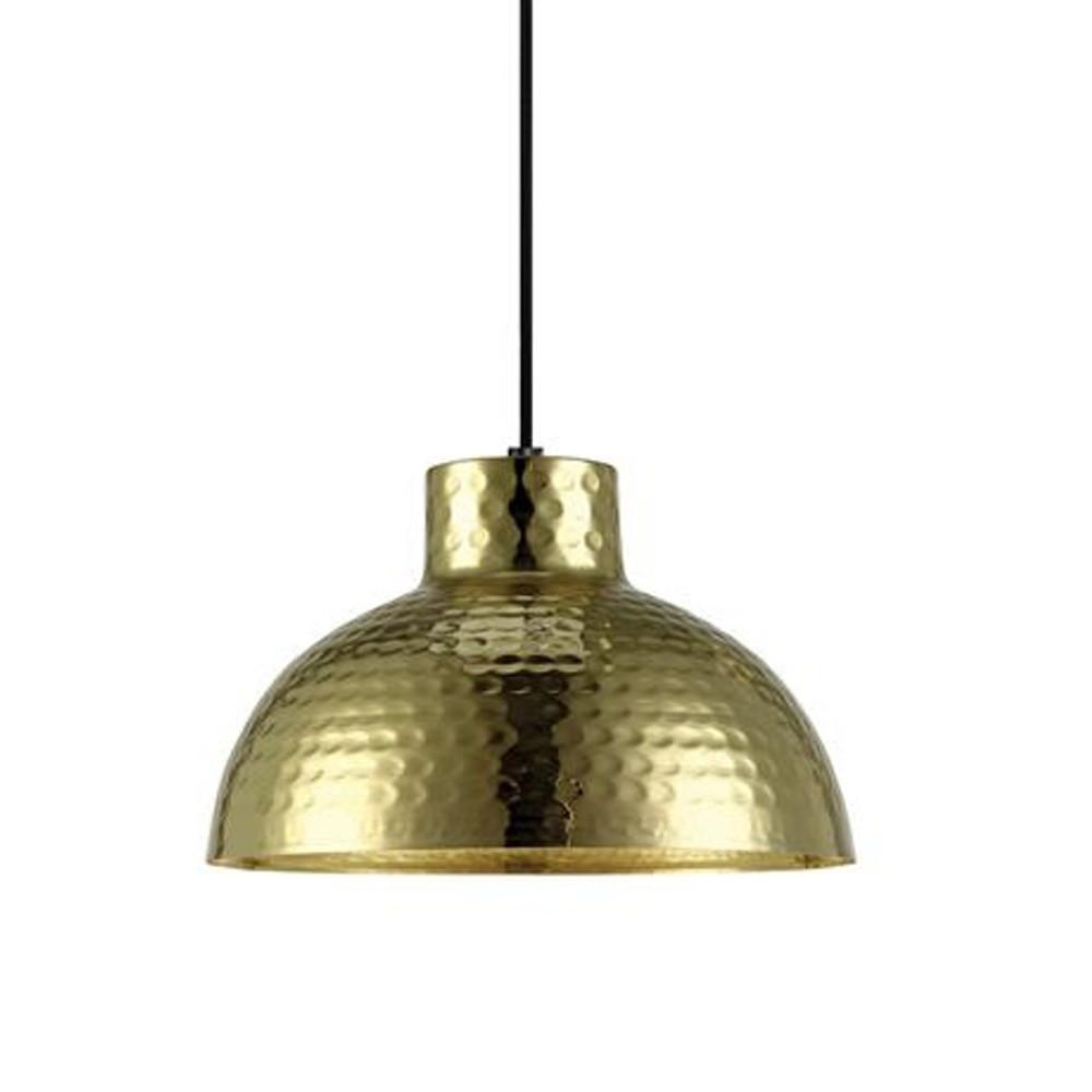 Zlaté závesné svetlo Markslöjd Hammer