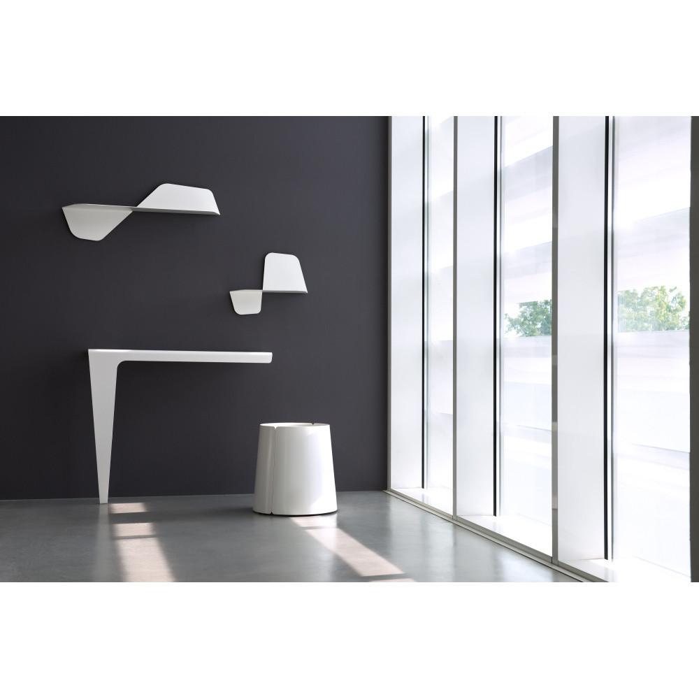 Biely konzolový stolík MEME Design Lama
