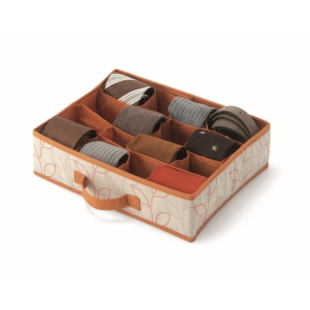 Oranžový úložný box do zásuvky Cosatto Bloom, šírka 37cm