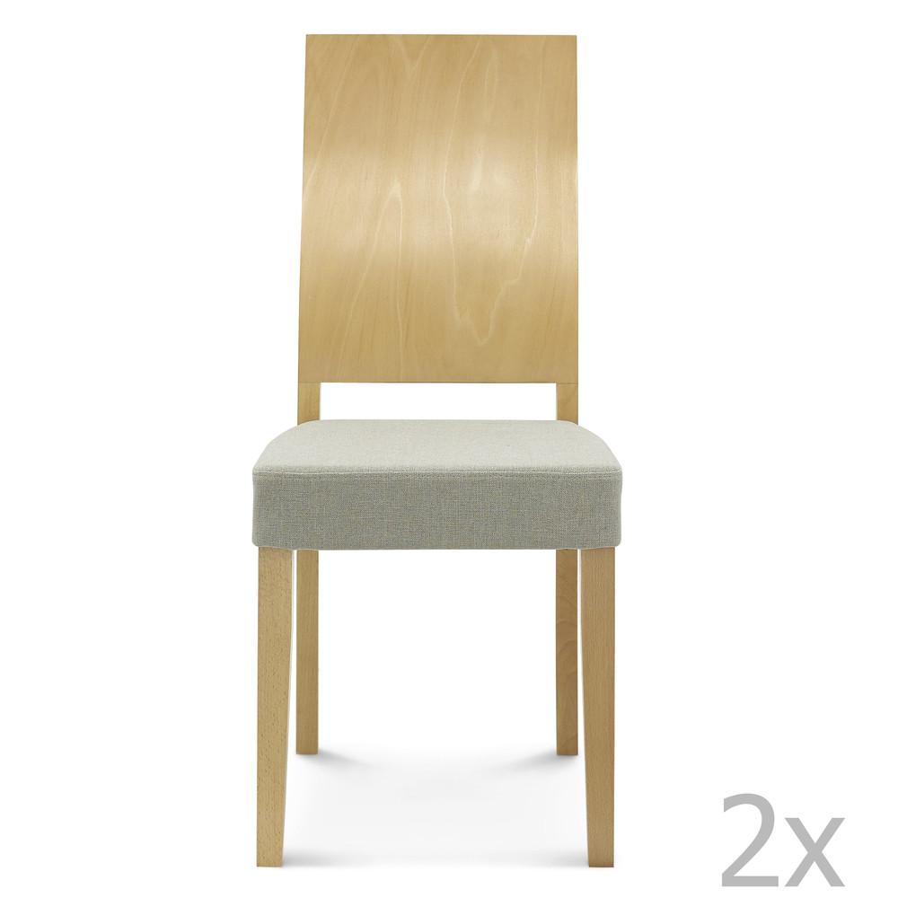 Sada 2 drevených stoličiek Fameg Daga