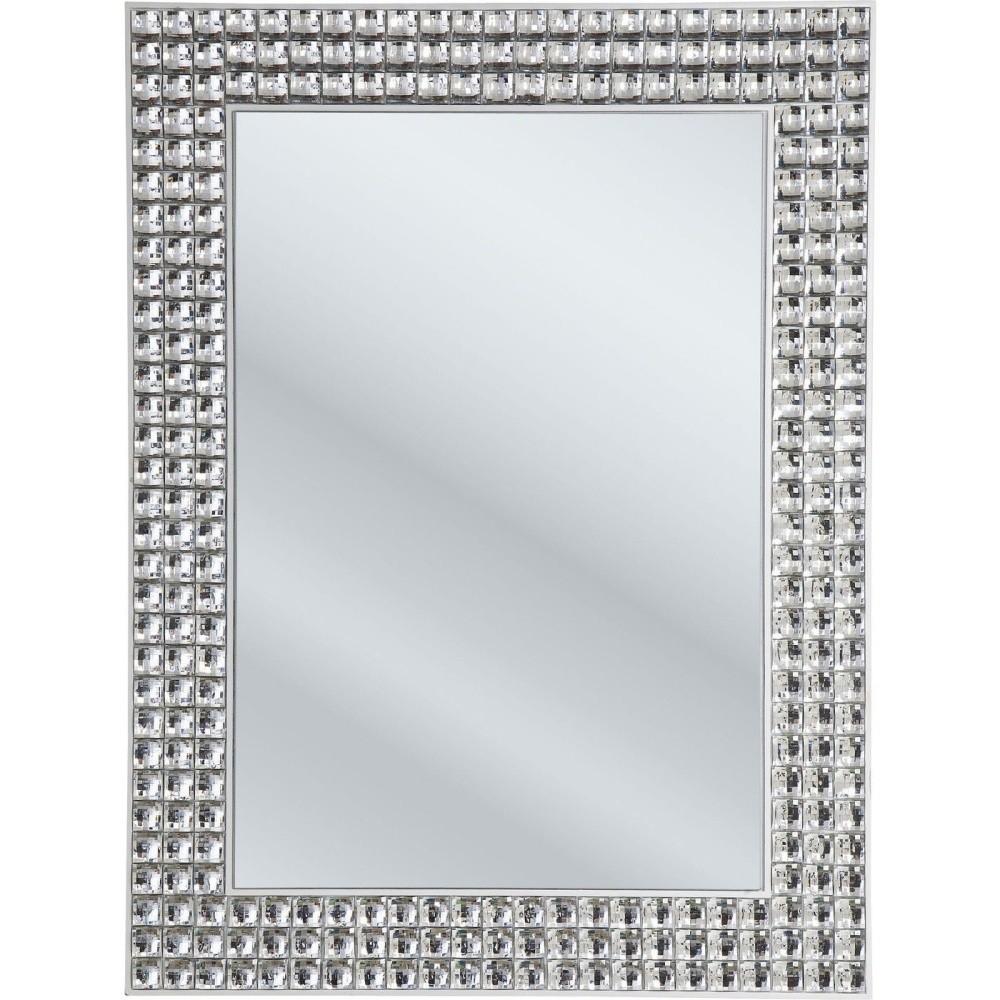 Nástenné zrkadlo Kare Design Crystals, 60 x 80 cm