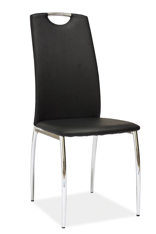 Jedálenská stolička HK-622, čierna