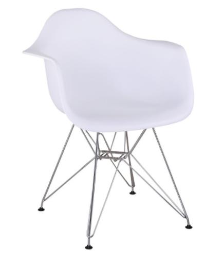 Jedálenská stolička Feman New   Farba: Biela