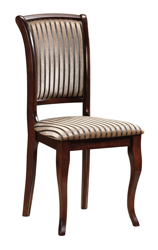 SC-MN čalúnená jedálenská stolička, orech T18